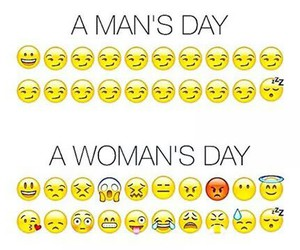 woman, man, and funny image