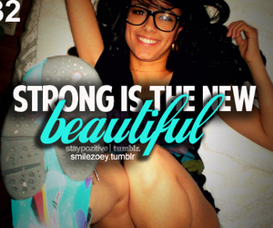 quote, beautiful, and strong image