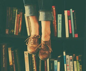 book, shoes, and vintage image