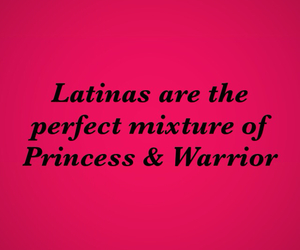LATINAS, pink and black, and princess image
