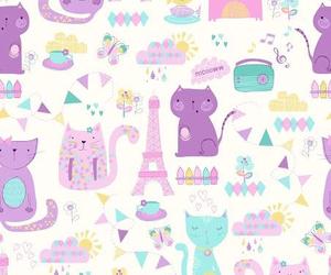 cute, cat, and wallpaper image