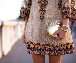 color, dress, and Valentino image