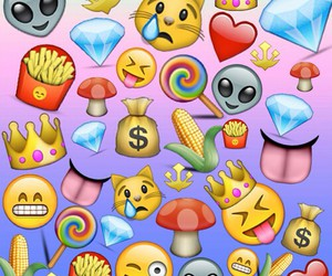 emoji, background, and wallpaper image