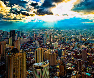 city, photography, and sky image