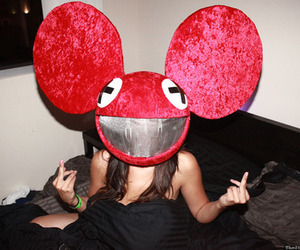deadmau5, party, and drunk image