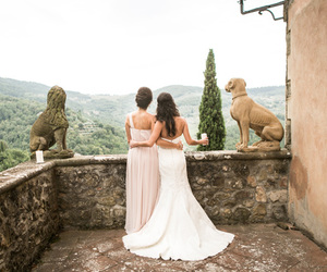 abroad, italy, and bride image