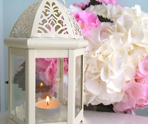 flowers and candle image