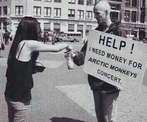 concert, money, and help image