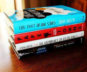 abundance of katherines, the fault in our star, and john green image