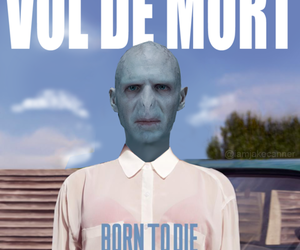 voldemort, harry potter, and lana del rey image