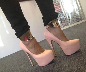fashion, high heels, and sexy image