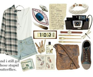grunge, outfit, and Polyvore image