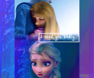 cry, frozen, and elsa image