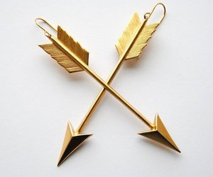 earrings, arrow, and accessories image