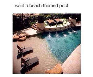beach, pool, and goals image