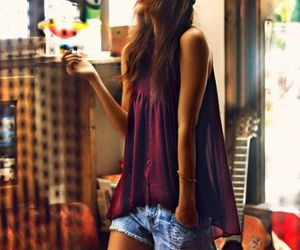 casual, shorts, and fashion image