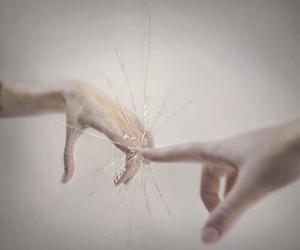 alternative, broken, and fingers image