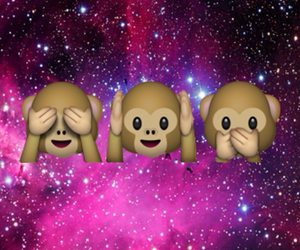 galaxy, monkeys, and whatsapp image