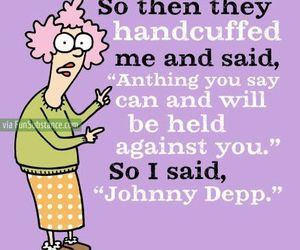 funny, johnny depp, and text image
