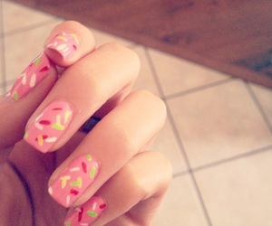 donuts, nails, and sprinkles image