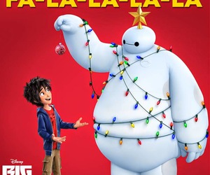 disney, baymax, and funny image