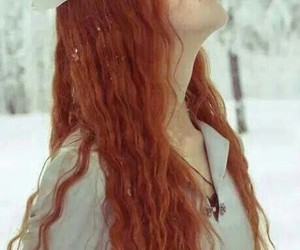 girl, medieval, and red hair image