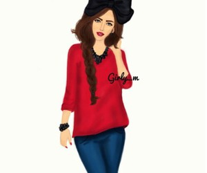 girly_m and drawing image