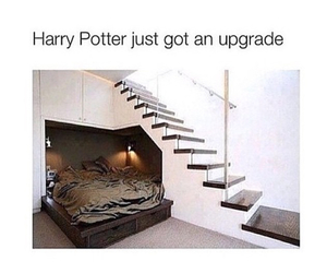harry potter, bedroom, and funny image