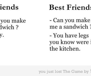 friends, best friends, and text image
