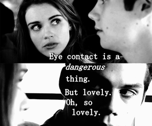 danger, quotes, and teen wolf image
