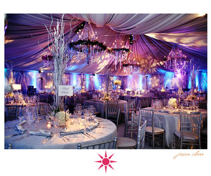 party, winter wonderland, and wedding reception image