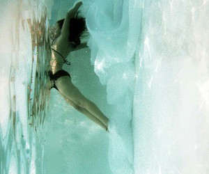 grunge, photography, and underwater image