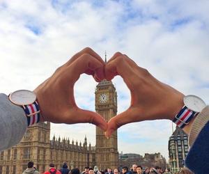 Big Ben, couple, and london image