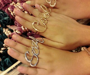 bling, cool, and ring image