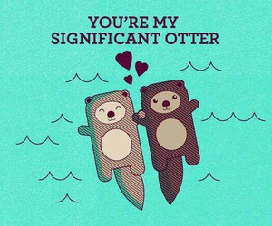 love and otter image