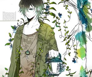 anime, sad, and tree image