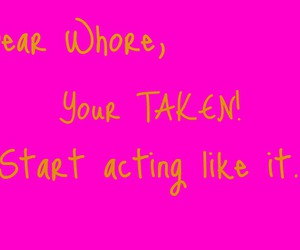 pink, typography, and taken image