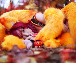 cosplay and ahri image