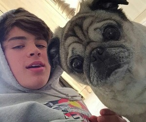 hayes grier, dog, and hayes image