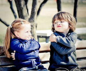 hug and kids image