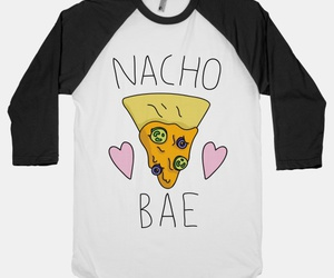 cute food, nachos, and food pun image