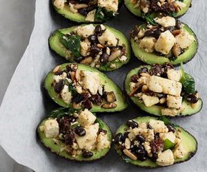 avocado, baking, and dinner image