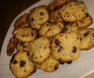 chocolat, Cookies, and cooking image