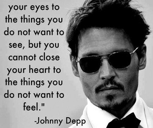 feel, johnny depp, and love image