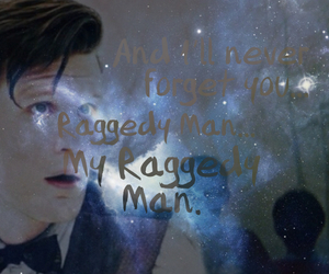 doctor who, eleventh doctor, and raggedypond image