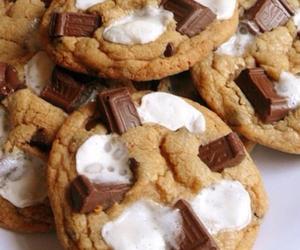 chocolate, food, and Cookies image