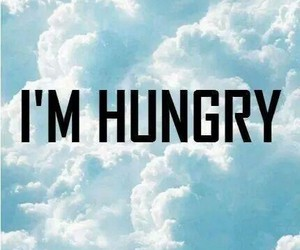 hungry, sky, and always image