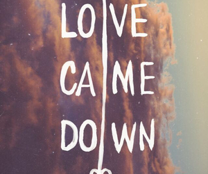 love, background, and down image