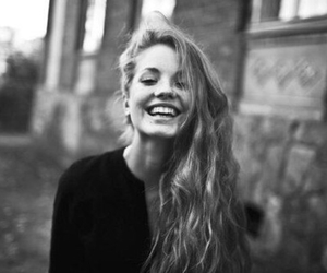 girl, smile, and beautiful image