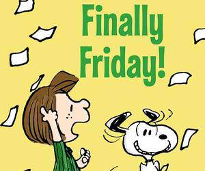 friday and snoopy image